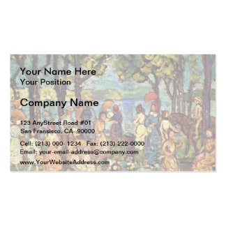 Maurice Prendergast- Summer, New England Pack Of Standard Business Cards