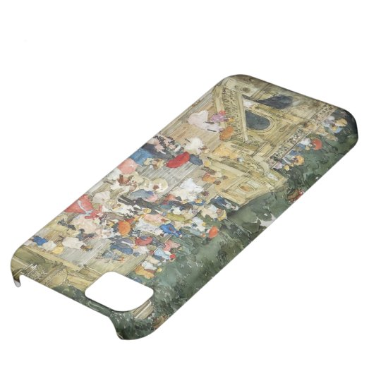 Maurice Prendergast- The Mall, Central Park iPhone 5C Case
