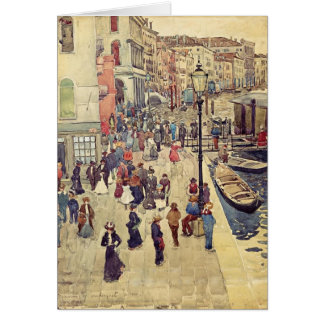 Maurice Prendergast- Venice Card