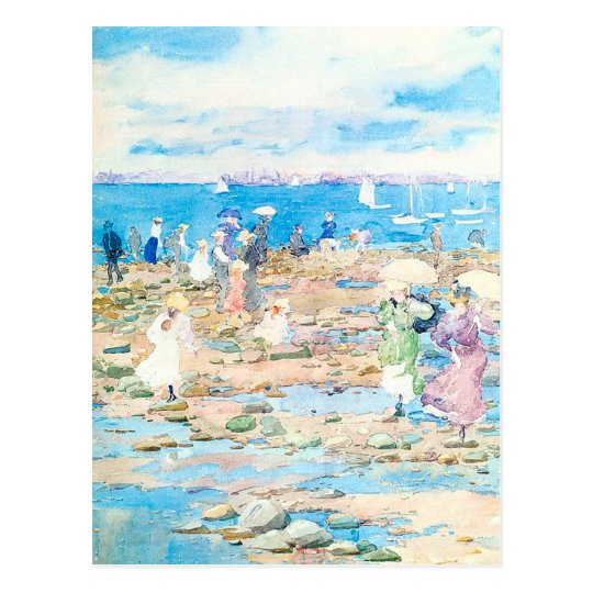 Maurice Prendergast's Summer Visitors Postcard