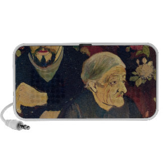 Maurice Utrillo, his Grandmother and his Dog Portable Speakers