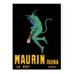 Maurin Quina - Cappiello 1906 - Absinthe Apertif Post Card