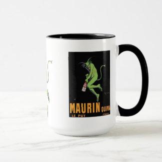 Maurin Quina Green Devil Absinthe Mug