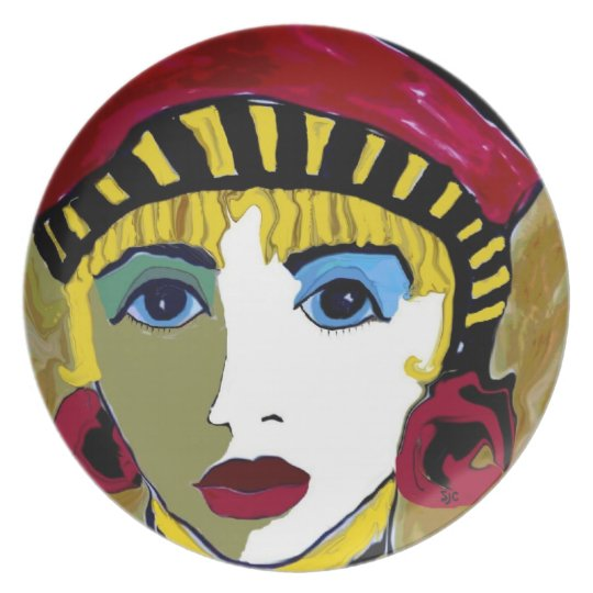 Maurine the Queen Dinner Plate
