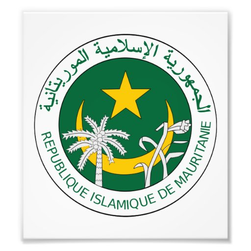 Mauritania Coat Of Arms Photo