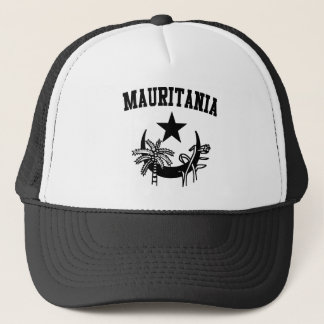 Mauritania Coat of Arms Trucker Hat