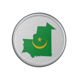 mauritania country flag map shape symbol bluetooth speaker