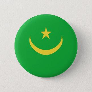 Mauritania Fisheye Flag Button
