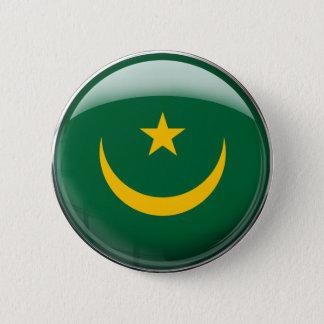 Mauritania Flag 6 Cm Round Badge
