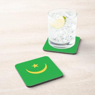 Mauritania Flag Coaster
