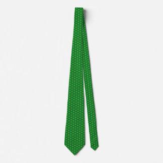 Mauritania Flag Honeycomb Tie