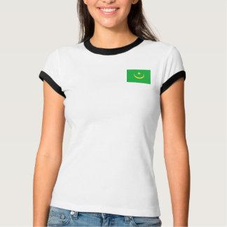 Mauritania Flag + Map T-Shirt