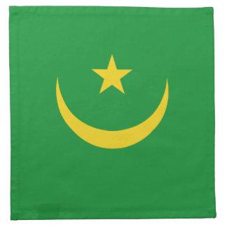 Mauritania Flag Napkin
