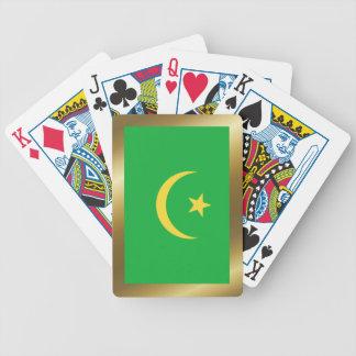 Mauritania Flag Playing Cards