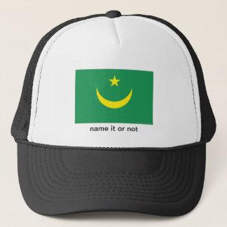 Mauritania flag souvenir hat