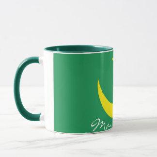 Mauritania flag souvenir mug