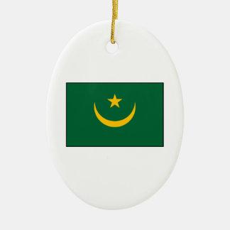 Mauritania - Mauritanian Flag Ornaments