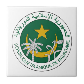 Mauritania National Seal Tile