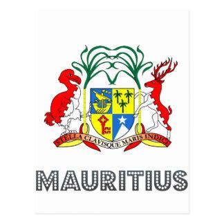 Mauritanian Emblem Postcards