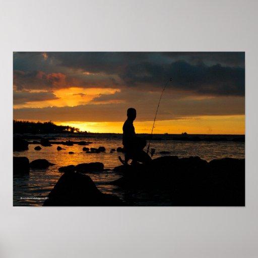 Mauritian Fisherman Poster