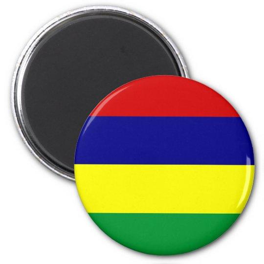 Mauritius 6 Cm Round Magnet
