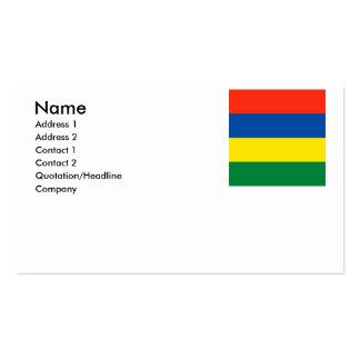 Mauritius Business Cards