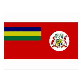 Mauritius Civil Ensign Postcard