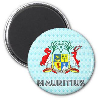 Mauritius Coat of Arms Magnet