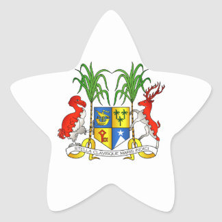 Mauritius Coat of Arms Stickers