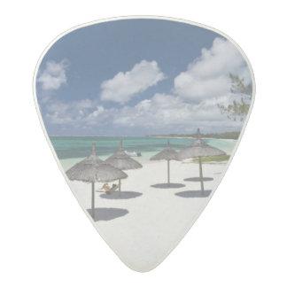 Mauritius, Eastern Mauritius, Belle Mare, Acetal Guitar Pick