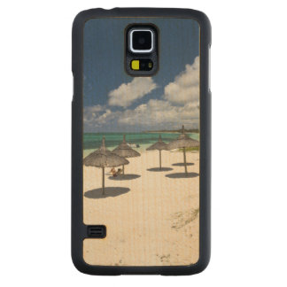 Mauritius, Eastern Mauritius, Belle Mare, Carved Maple Galaxy S5 Case