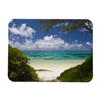 Mauritius, Eastern Mauritius, Belle Mare, East Rectangular Photo Magnet