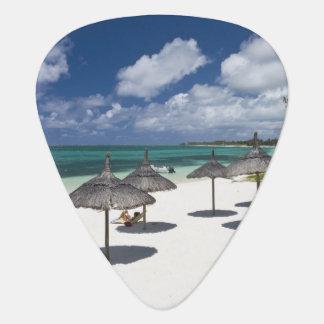 Mauritius, Eastern Mauritius, Belle Mare, Guitar Pick