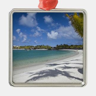 Mauritius, Eastern Mauritius, Trou d' Eau Douce, Silver-Colored Square Decoration