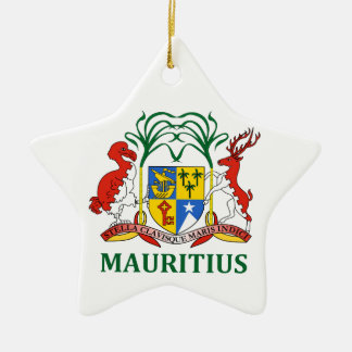 mauritius - emblem/flag/coat of arms/symbol christmas ornament