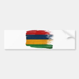 Mauritius Flag Bumper Sticker