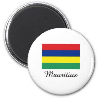 Mauritius Flag Design Magnet