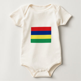 Mauritius FLAG International Baby Bodysuit