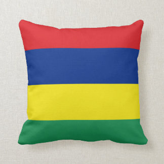 Mauritius Flag pillow