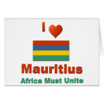 Mauritius Greeting Cards