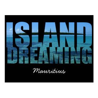 Mauritius Island Dreaming Postcard