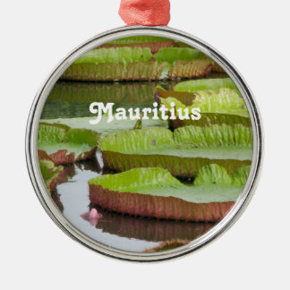 Mauritius Lily Pads Christmas Ornament