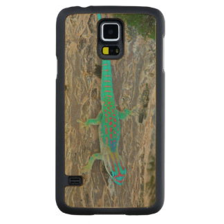 Mauritius Lowland Forest Day Gecko Maple Galaxy S5 Case
