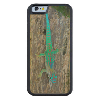 Mauritius Lowland Forest Day Gecko Maple iPhone 6 Bumper Case