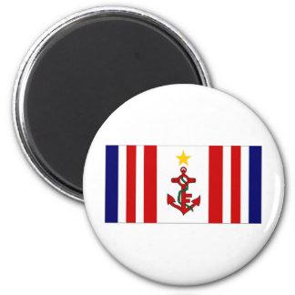Mauritius Naval Ensign Refrigerator Magnet