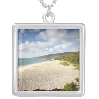 Mauritius, Rodrigues Island, St. Francois, St. Silver Plated Necklace