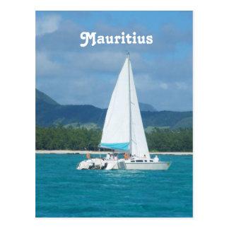 Mauritius Sailing Postcard