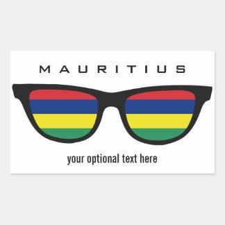 Mauritius Shades custom stickers