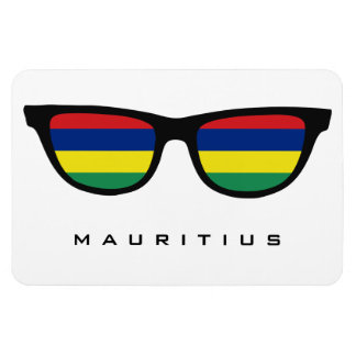 Mauritius Shades custom text & color magnet