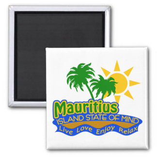 Mauritius State of Mind magnet